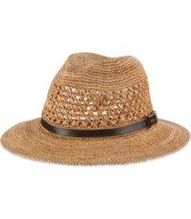 dorfman pacific men's crocheted safari hat