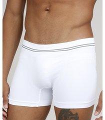 cueca masculina boxer branca