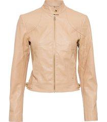 giacca in similpelle (marrone) - bodyflirt
