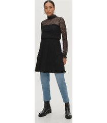 spetsklänning vivesra l/s lace dress