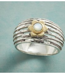 mother of petal ring