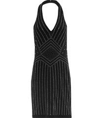 abito elegante con scollo all'americana (nero) - bodyflirt boutique