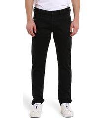 men's diesel d-bazer slim fit jeans, size 33 - black