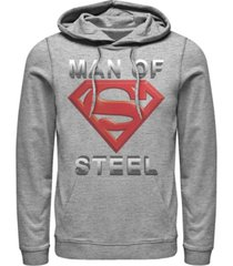men's superman scoring shield fleece hoodie