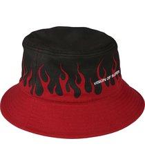 vision of super flame bucket hat