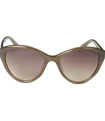 57mm novelty cat eye sunglasses