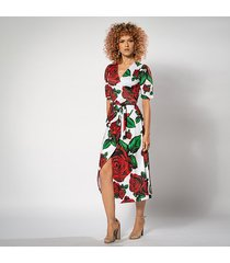 rozalia - sukienka w róże