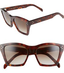 women's celine 55mm cat eye sunglasses -