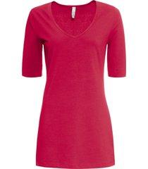 maglia con maniche a 3/4 (rosso) - bodyflirt boutique