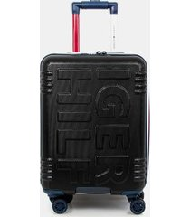 "tommy hilfiger women's 21"" spinner suitcase black -"