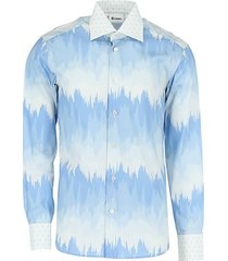 regular-fit printed cotton sport shirt