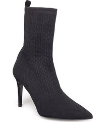 mel shoes boots ankle boots ankle boots with heel svart henry kole
