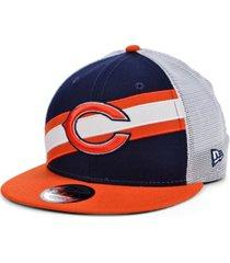 new era chicago bears diagonal trucker 9fifty cap
