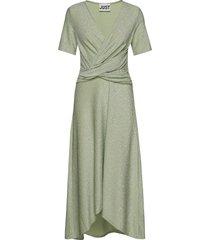 utopio dress jurk knielengte groen just female