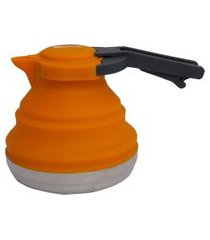 chaleira dobrável 1.2l silicone capex azteq