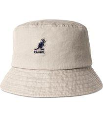 kangol men's washed bucket hat