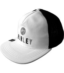 gorra hurley made in the shade-blanco
