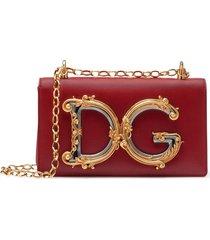 dolce & gabbana dg crossbody bag - red
