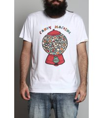 camiseta candy machine