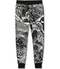 gents jogger print sweatpants