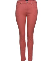 amy jeans super slim skinny fit plus skinny jeans rosa zizzi