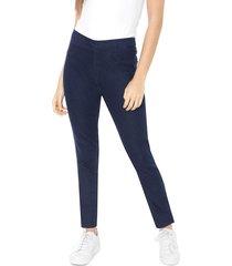 calça jeans hering jegging básica azul