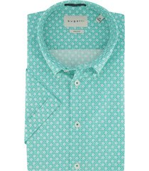 zeegroen overhemd bugatti button down