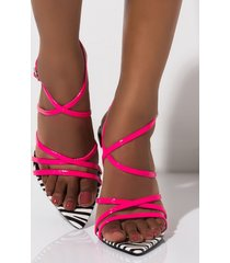 akira cape robbin cross my heart strappy sandal
