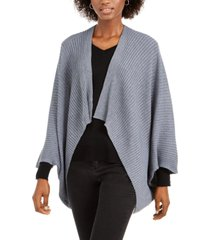save the ocean recycled knit kimono