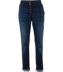 jeans elasticizzati con cinta a costine (blu) - bpc bonprix collection