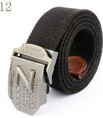 cinturón de hombres, cinturón tejido para hombres-negro