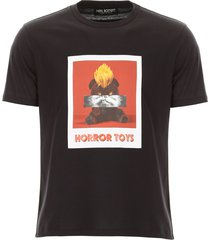 neil barrett horror toys t-shirt