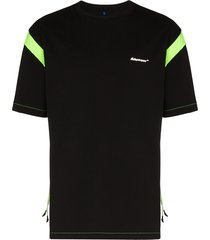 ader error drawcord arm t-shirt - black
