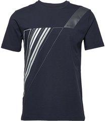 tee tr 2 t-shirts short-sleeved blå boss