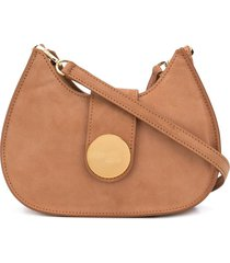 elleme new tambour crossbody bag - brown