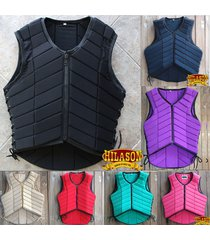 hilason adult safety horse riding equestrian eventer protective protector vest