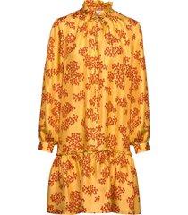 cheyenne dress korte jurk geel lovechild 1979
