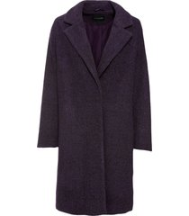 cappotto corto in simil lana (viola) - bodyflirt