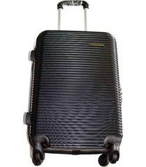 espectacular maleta pequeña 20 pulgadas cabina 4 ruedas 360º abs2 - negro
