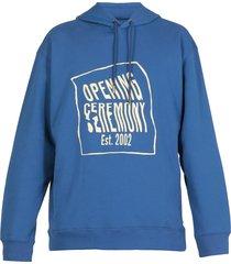 opening ceremony warped logo hoodie