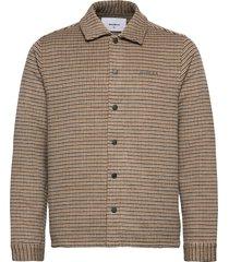jaxo houndcheck shirt overshirts bruin woodbird
