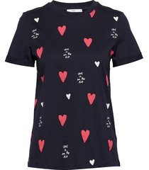t-shirts t-shirts & tops short-sleeved blå edc by esprit
