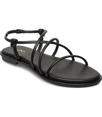 kuerten shoes summer shoes flat sandals svart aldo