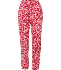 pantaloni con elastico in vita (rosso) - bodyflirt