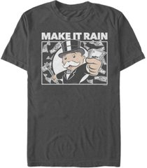 fifth sun men's make it rain short sleeve crew t-shirt
