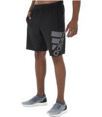 bermuda adidas 4k sport gf bos - masculina - preto