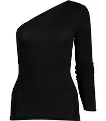one sleeve slim bodysuit
