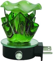 green lava wall plugin warmer - use with scentsy & yankee candle wax