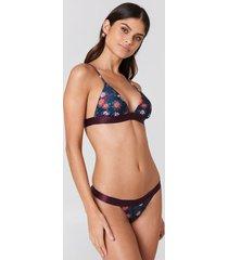 na-kd swimwear elastic bikini briefs - multicolor