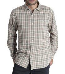 camisa algodón hombre bradford verde rockford